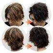 画像9: Formal Black F25 フォーマルブラックカラーワックス 黒 36g 【日本製】【無香料】【シャンプーでサッと洗い流せる1日黒髪】 (9)