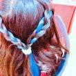 画像10: 【官网】Mysterious Blue M25 神秘的蓝色(蓝色)炫彩涂发膏36g【日本制】【无香料】【能用洗发液一下子冲洗掉的保持一天的漂亮发色】 (10)