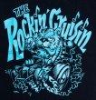 画像3: THE ROCKIN'Cruisin Tiger Tシャツ(ブルー) Design by Mr.G 【送料無料】 (3)