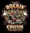 画像3: THE ROCKIN'Cruisin 2018_13th 歴代ポスターデザインTシャツ design by Mr. G【送料無料】 (3)
